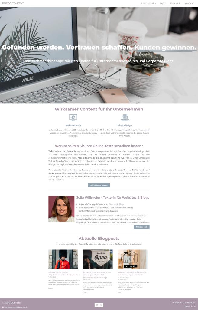 Meine Website Friedo-Content.de