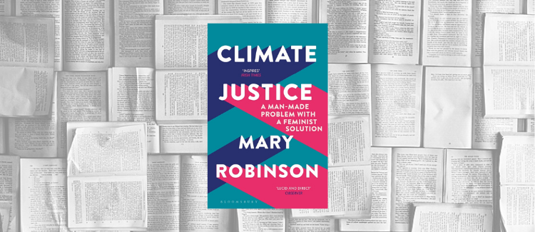 Cover des Buchs Climate Justice von Mary Robinson