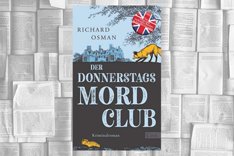 Debütroman von Richard Osman: Der Donnerstagsmordclub
