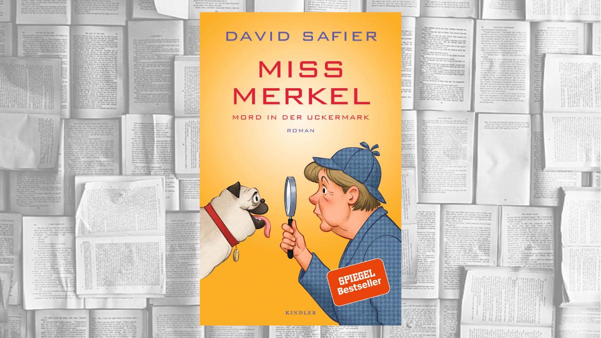 Buchcover Miss Merkel von David Safier